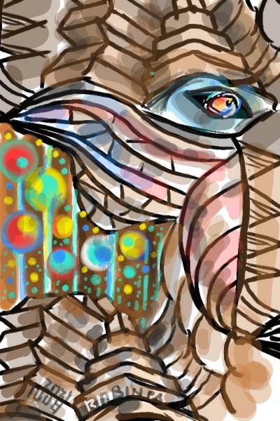 Eagle Eye : Brown Planet | RobinPAPA | Digital Drawing | PENUP