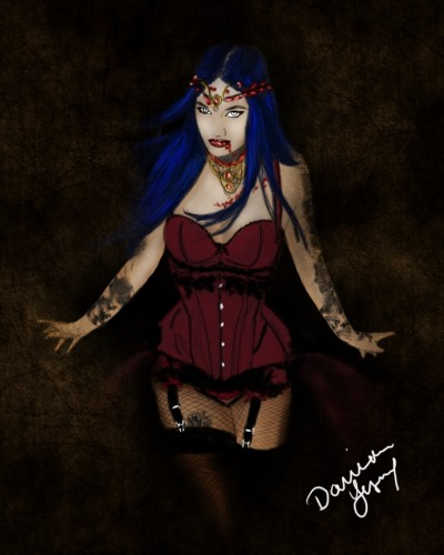 Vampiress | missdarrian | Digital Drawing | PENUP