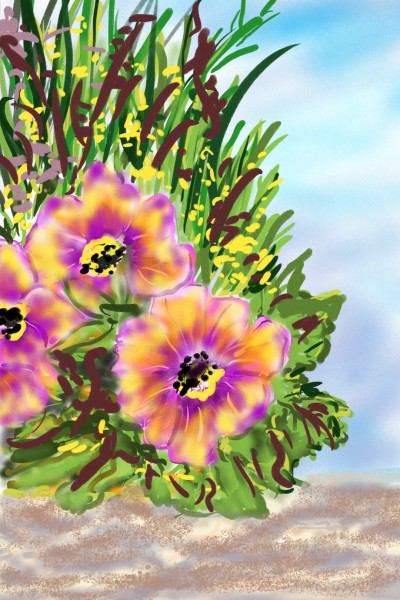Plant Digital Drawing   Barbra   PENUP