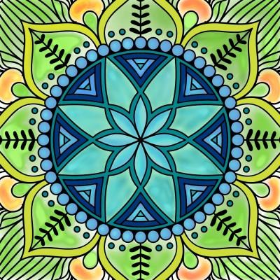 Mandala   | Anderson | Digital Drawing | PENUP