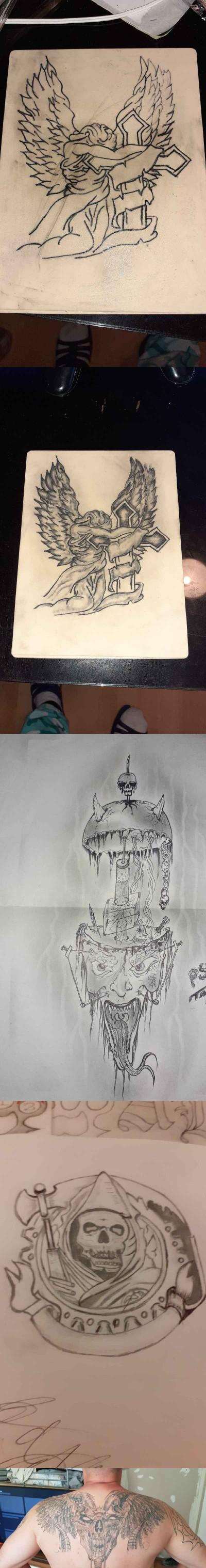 Tatuaże | Lukasz1312 | Digital Drawing | PENUP