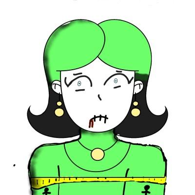 Billie Eilish | siri | Digital Drawing | PENUP