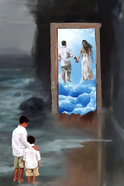 Door to Heaven.. All Alone   MissyJ   Digital Drawing   PENUP