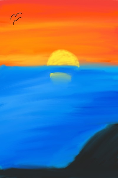 The Sunset | ShashaTanis | Digital Drawing | PENUP