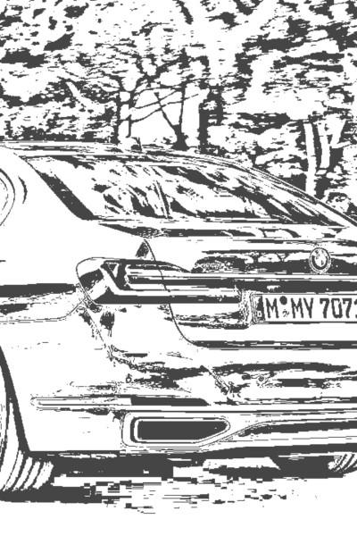 BMW 750i | AdnanMohammed | Digital Drawing | PENUP