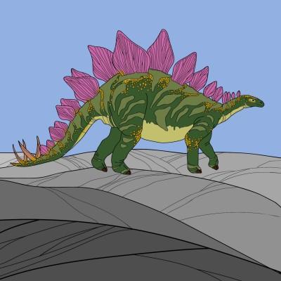 Steggy Boi | AngerySailor | Digital Drawing | PENUP