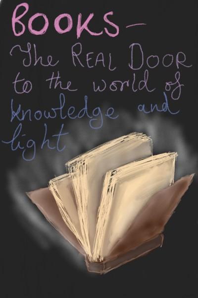 Books!   DebosArtwork   Digital Drawing   PENUP