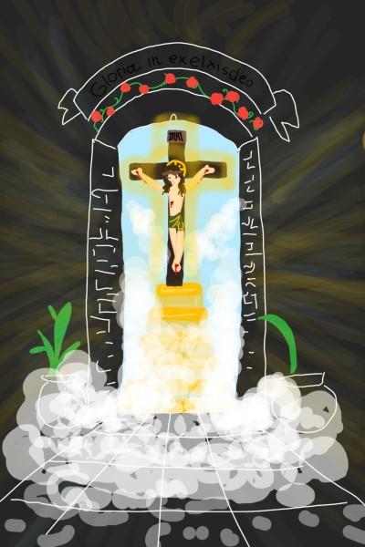 door way to jesus christ | mickey123 | Digital Drawing | PENUP