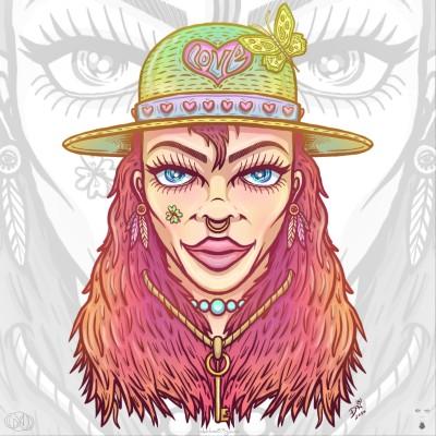 Love hat by nikolass  | nikolass83 | Digital Drawing | PENUP