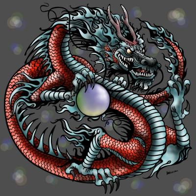 Dragon | Monica.Baumann | Digital Drawing | PENUP