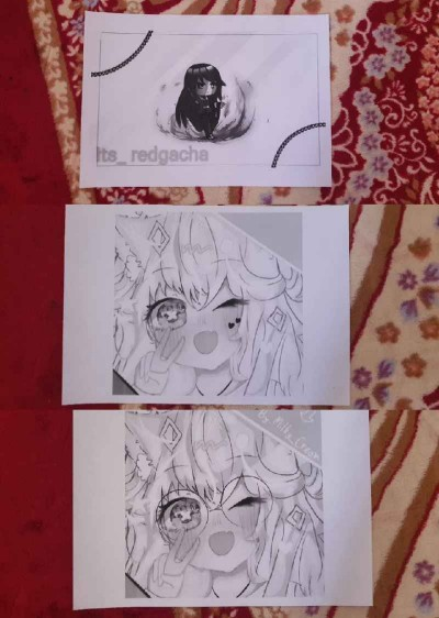 I print your profile  | BlueBunny | Digital Drawing | PENUP