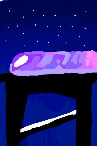 Ночной поезд | AllaEvseeva | Digital Drawing | PENUP