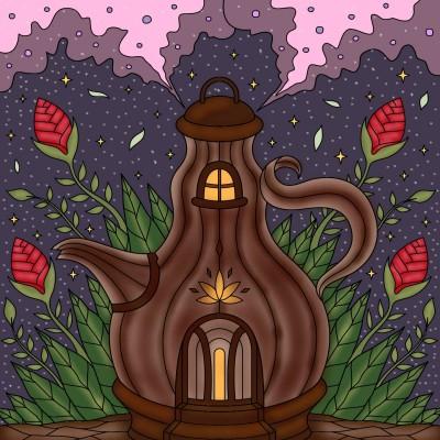 Fairy tale teapot | tashapreisner | Digital Drawing | PENUP