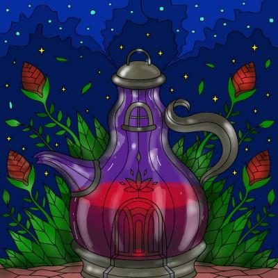 Moroccan teapot ♡♡♡   Sylvia   Digital Drawing   PENUP