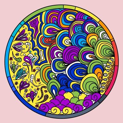 colorful  | skycastle | Digital Drawing | PENUP