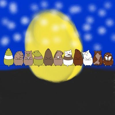 Hamsters | Boomer | Digital Drawing | PENUP