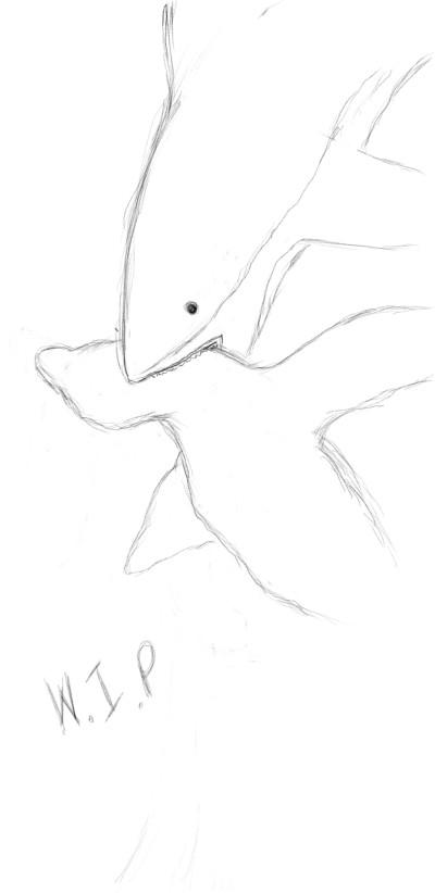 shark attacks  | SoloSketch | Digital Drawing | PENUP