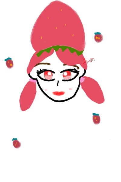 Strawberry ice cream | RTBLW | Digital Drawing | PENUP