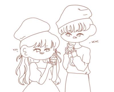 선화배포1-요리 | Baek.sat.gat | Digital Drawing | PENUP
