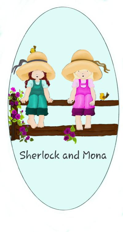 Sherlock and Mona watching Deers in Garden   sherlock   Digital Drawing   PENUP