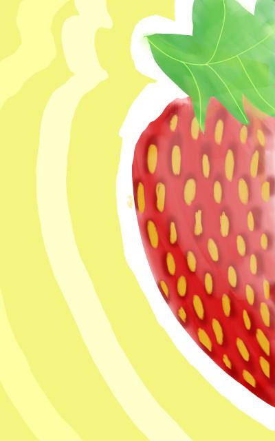 Little Strawberry ♡ | NeviSnow | Digital Drawing | PENUP