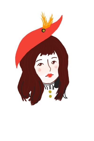 Pretty Girl  | Sylvia | Digital Drawing | PENUP