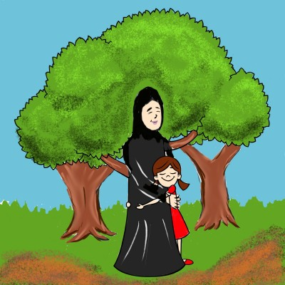 mother and  daughter  | OmrGhabban | Digital Drawing | PENUP