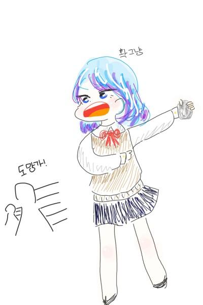 자캐 낛   Leah   Digital Drawing   PENUP