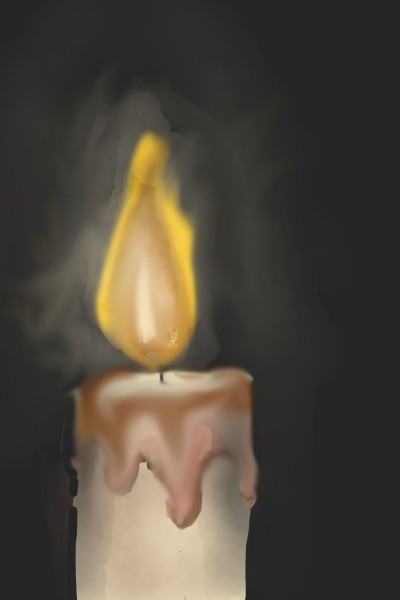 candle | penup | Digital Drawing | PENUP