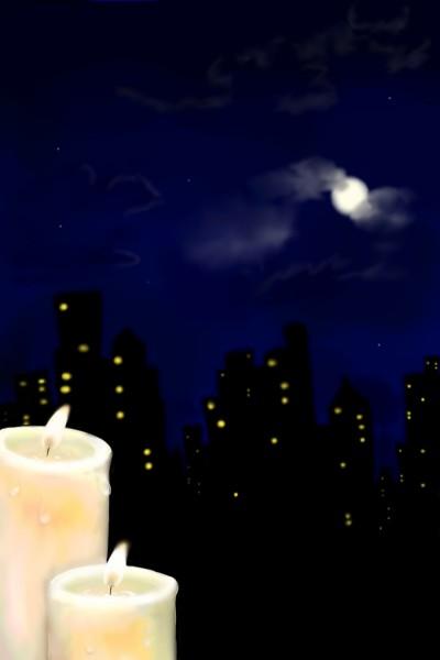 NIGHT   Otman   Digital Drawing   PENUP