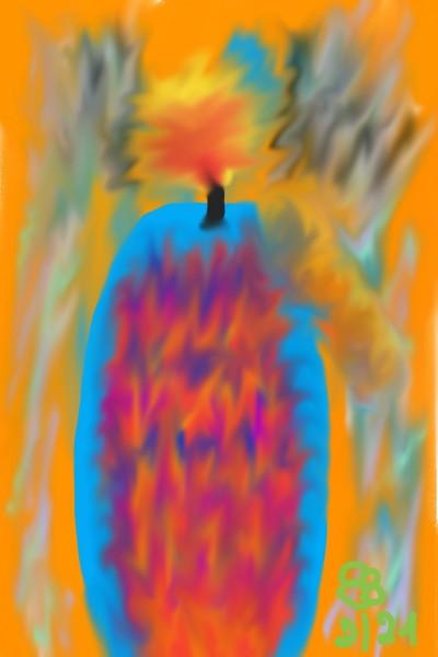 Candle Feb21 | Britta | Digital Drawing | PENUP