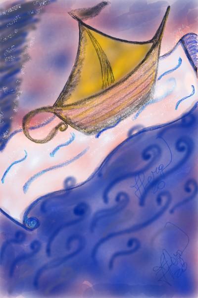 Genius boat | frannyme | Digital Drawing | PENUP