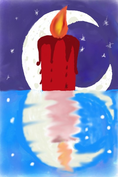 candle lit night | pastorprime | Digital Drawing | PENUP
