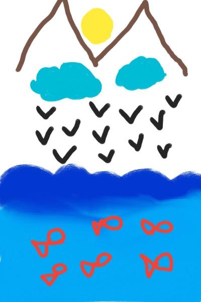 دریا  | fateme | Digital Drawing | PENUP