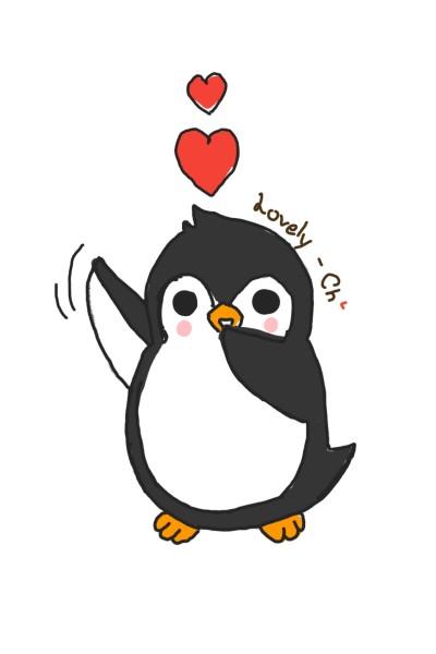 Lovely penguin | Lovely-Ch | Digital Drawing | PENUP