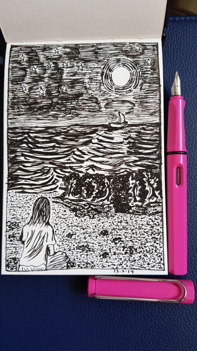 solitude | june | Digital Drawing | PENUP