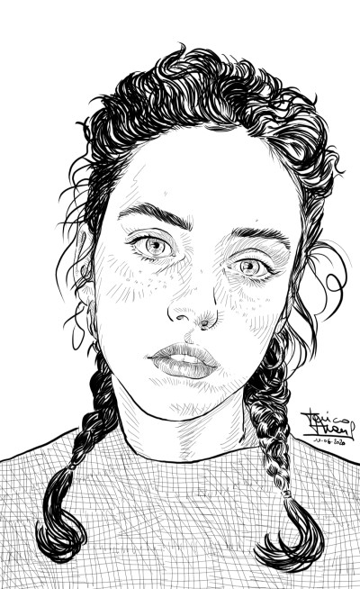 Julia  | jericojhones | Digital Drawing | PENUP