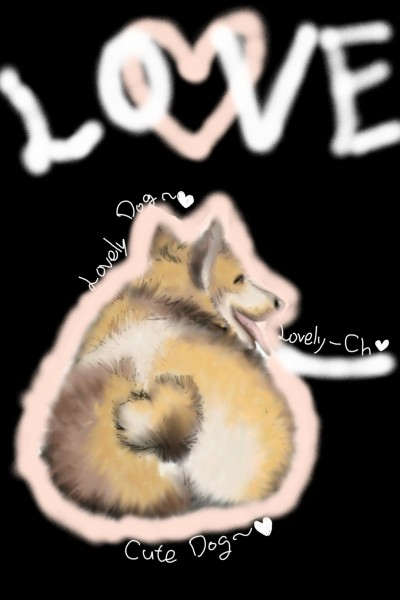 Cute and Lovely Dog♡ | Lovely-Ch | Digital Drawing | PENUP