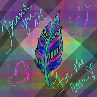 Thank You, Loves! | missdarrian | Digital Drawing | PENUP
