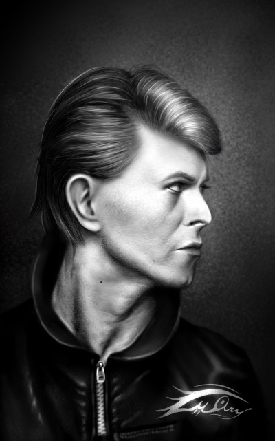 David Bowie  | i.mary | Digital Drawing | PENUP