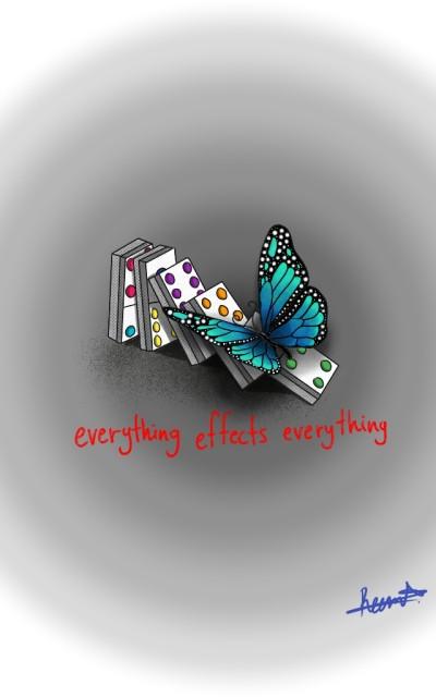 Butterfly Effect  | Reema21 | Digital Drawing | PENUP