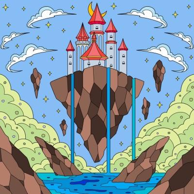 Heaven Castle   Persefone   Digital Drawing   PENUP