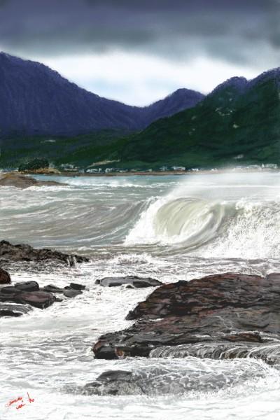 Landscape Digital Drawing   mino9683   PENUP