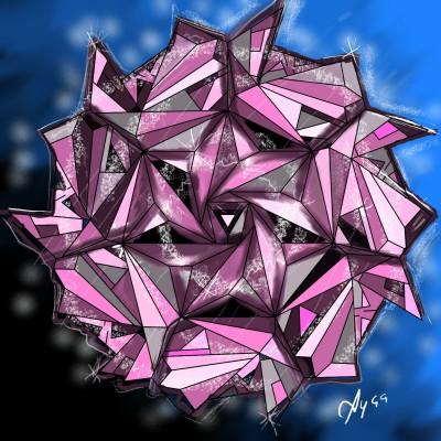 Rose of Diamonds   Ayca   Digital Drawing   PENUP