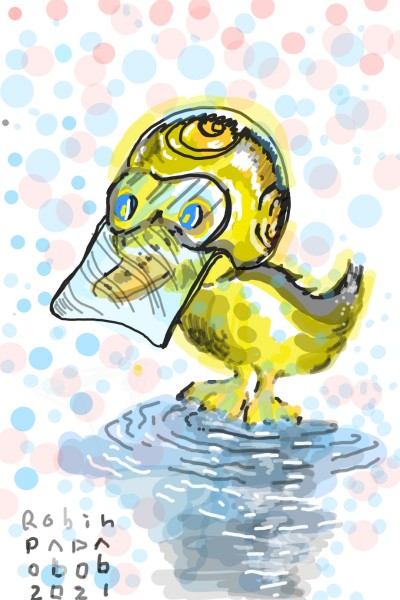 Duck : Anti_Cov_19   RobinPAPA   Digital Drawing   PENUP