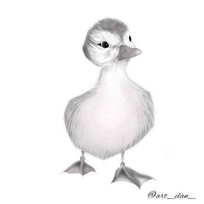 duckling | Brand_Silveyra | Digital Drawing | PENUP