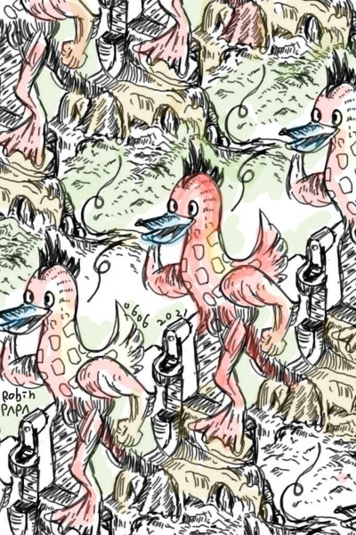 Red Duck .   All_old_art   Digital Drawing   PENUP
