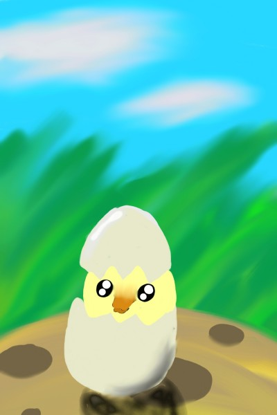 my first duck | Liza | Digital Drawing | PENUP