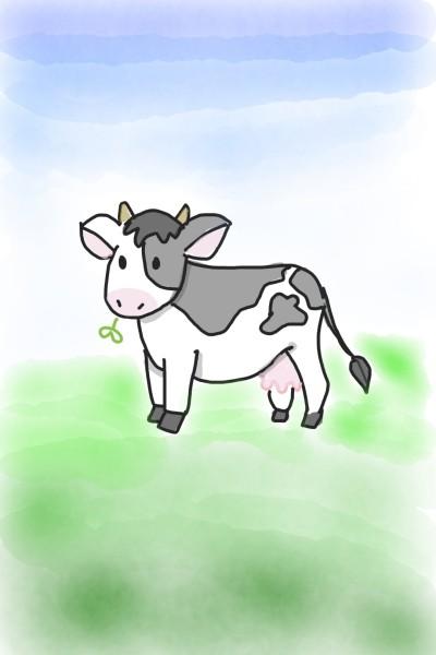 Moooooooo   Judy   Digital Drawing   PENUP