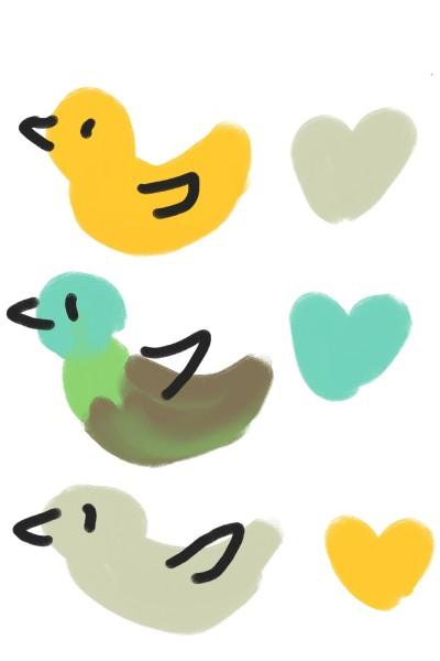 Hi ducks!!   Meow   Digital Drawing   PENUP